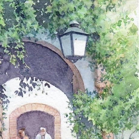 新緑の頃に(バルセロナ)