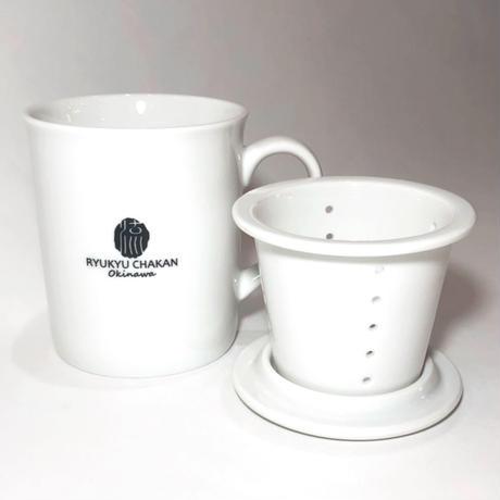 茶こし付きマグカップ(ロゴ入り)
