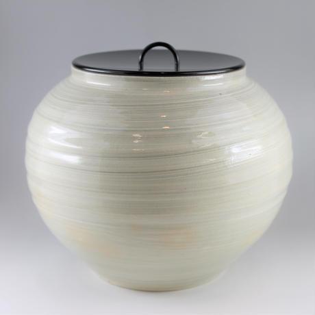 廣州窯 白釉水指【未使用品】