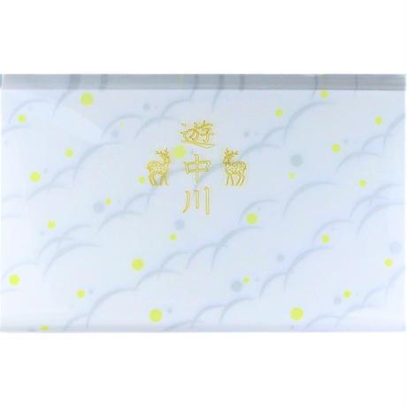 遊中川  小紋懐紙  つゆしば斜文