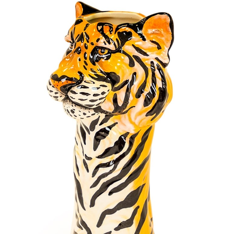 RED CANDY●MR-SD25●タイガー花瓶●H35xW16xD16cm●Tyra the Tiger Vase
