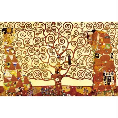 """グスタフ・クリムト*GUSTAV KLIMT*生命の樹 (Tree Of Life)*キャンバスアート 60x90cm(24""""×36"""")"""