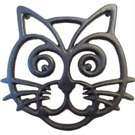 世界の猫GOODS●QTINUOUS 猫の鍋敷き●キャットトリベット●Cat Trivet