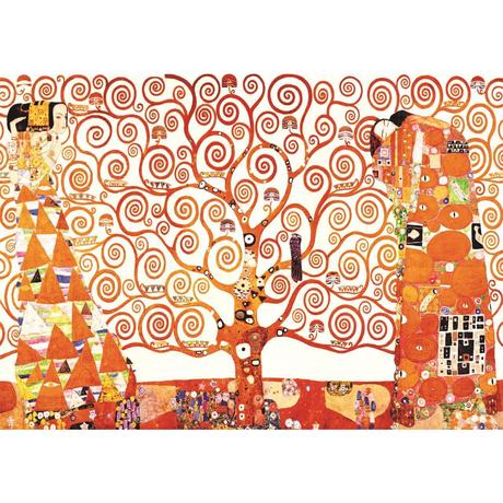 グスタフ・クリムト*生命の木/Tree of Life *59.4x84cm (A1)*キャンバスアート(フレーム無し)*Gustav Klimt