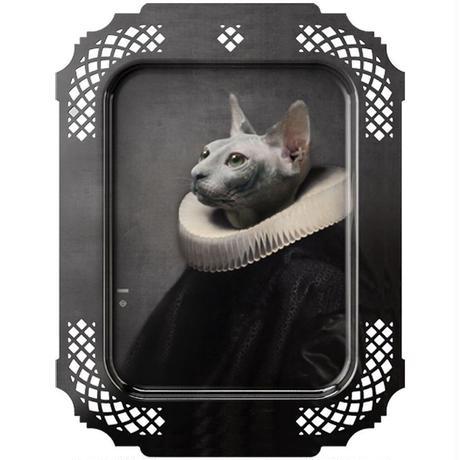 イブライド●レイチェル・コンヴァー●長方形のトレイ「チャット」PFGPCHAT●Galerie de Portraits