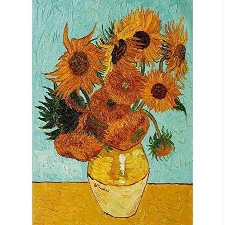 """フィンセント・ファン・ゴッホ*Vincent Willem van Gogh*ひまわり*キャンバスアート  60×80cm(24""""×32"""")"""