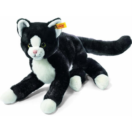 シュタイフ●Steiff 099366●ぶら下がり猫のミミ●Mimmi●世界の猫GOODG