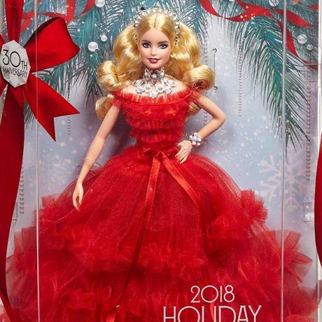 バービー*MATTEL BARBIE  FRN69*シグネチャーホリデーバービー2018(Signature Holiday Barbie)*マテル社
