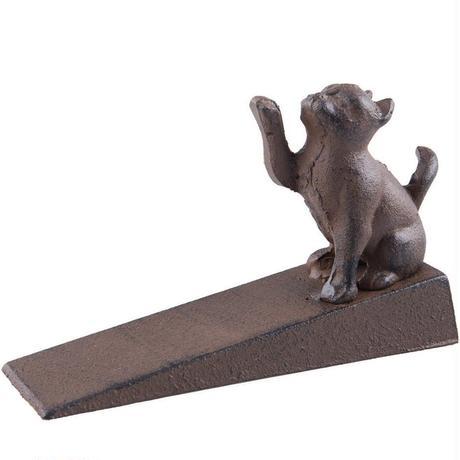 世界の猫GOODS●Fasmov CatDoorStopper-F●鉄製猫のドアストップ ●ファスモフ