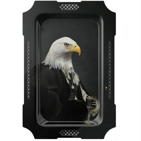 イブライド●レイチェル・コンヴァー●長方形のトレイ「L'Aigle」PFGPAIGL●Galerie de Portraits
