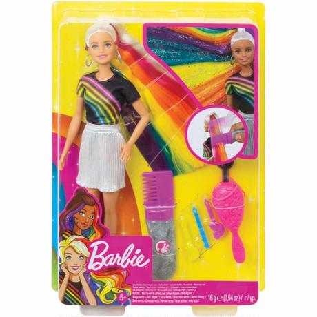 バービー*MATTEL BARBIE  FXN96*バービー人形 *ゴージャスなヘアとスタイリングアクセサリー*マテル社