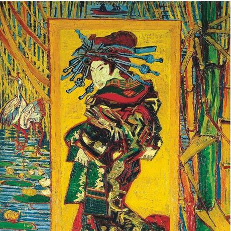 ヴァンゴッホ*遊女/Courtesan*59.4x84cm (A1)*キャンバスアート(フレーム無し)*Vincent van Gogh