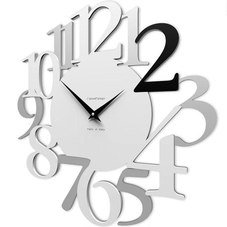 CALLEADESIGN◆Black◆WANDUHR RUSSELL ラッセル掛け時計 ( ブラック)◆トリエステ製