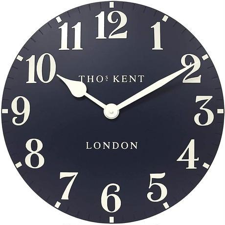 トーマスケント◆THOMAS KENT  AMC20056◆掛け時計◆アラビア時計インクブルー◆直径53㎝