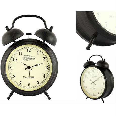 "NEXTIME◆NEXT  5149◆""Aaltje"" アールチェ目覚まし時計◆ 20 cm◆レトロ置き時計  のコピー"