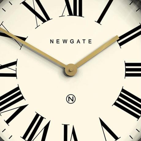 ニューゲート◆Newgate PUT538BGY◆バトラー掛け時計◆ブリザードグレイ◆Ø45cm