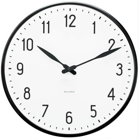 ローゼンダール◆アルネ・ヤコブセン◆STATION・ステーション  掛け時計 (21㎝)◆Arne Jacobsen