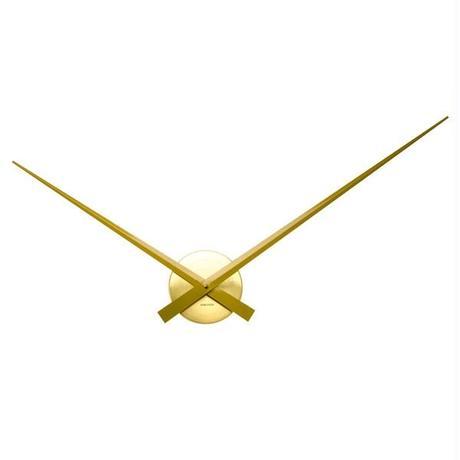 カールソン◆KARLSSON  KA5516GD◆リトルビッグタイム(回転径88cm)ゴールド◆Little Big Time Clock - Gold