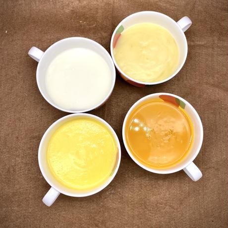 【web限定】北海道石狩市はるきちオーガニックファームで収穫された野菜スープセット(4種8個入)