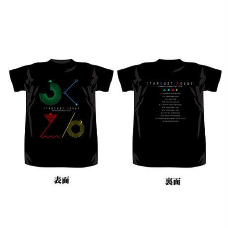 楽園音楽祭2018 Tシャツ クロ