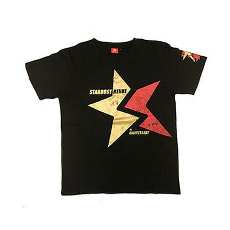35周年SSATシャツ プリントレッド