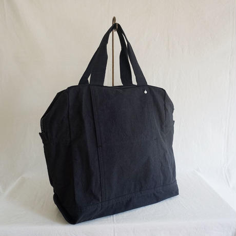 Hat Box Tote  /black