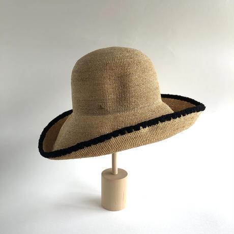 Raffia Portable Hat