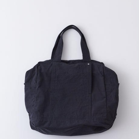 Hat Box Tote  /Sumi black