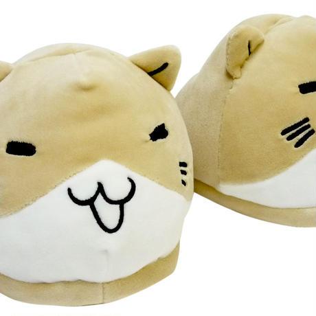 猫渕さんぬいぐるみスリッパ 51856010