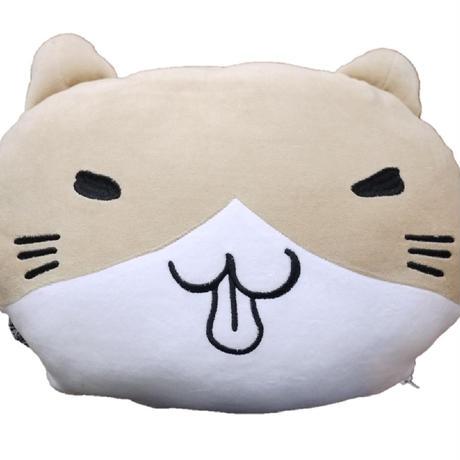 猫渕さんブランケットクッション 11739667
