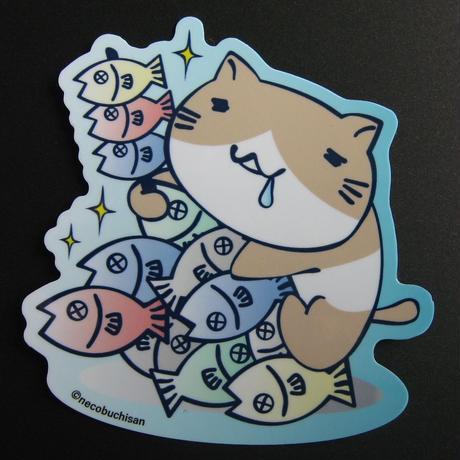 ダイカットステッカー(魚串)51852016