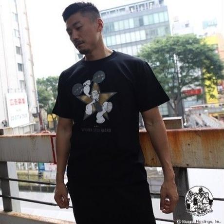 SUMMER STYLE AWARD  公式 限定POPEYE®コラボTシャツ  (BLACK)
