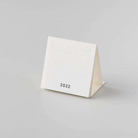 【箔押名入れ・50個セット】2022卓上カレンダー