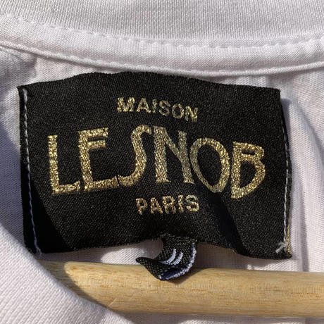 【MAISON LESNOB】t-shirt~from D~