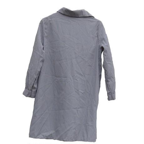 【Plaisir femme.】long stripe shirt~from D~