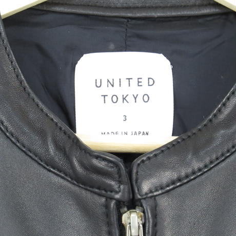 【united tokyo】single riders jacket ~from しゅんぺい~