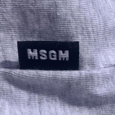 【MSGM】high neck long t-shirt 〜from D〜