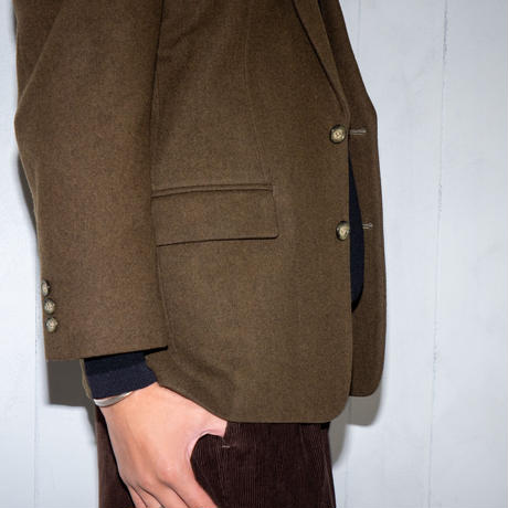 American casual single jacket(khaki)