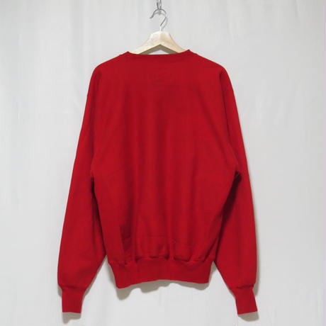 【Steve and barry's】OHO STATE 刺繍 sweat(red)(フリマ)
