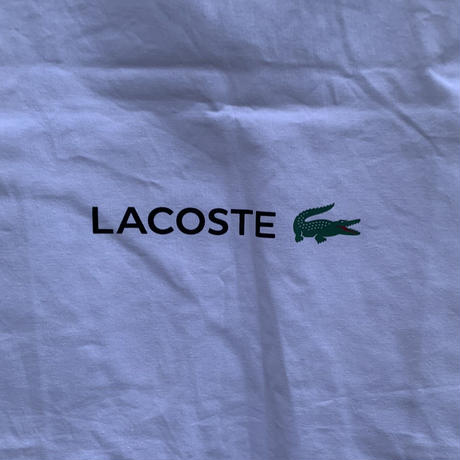 【LACOSTE】 tote bag〜from D〜