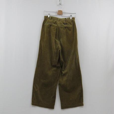 2tuck corduroy pants(beige)