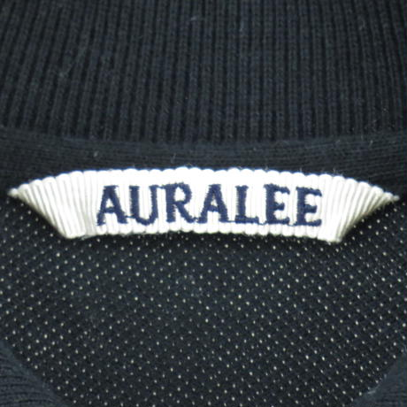 【AURALEE】polo shirt~from しゅんぺい~