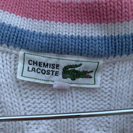 【LACOSTE】knit vest 〜from D〜