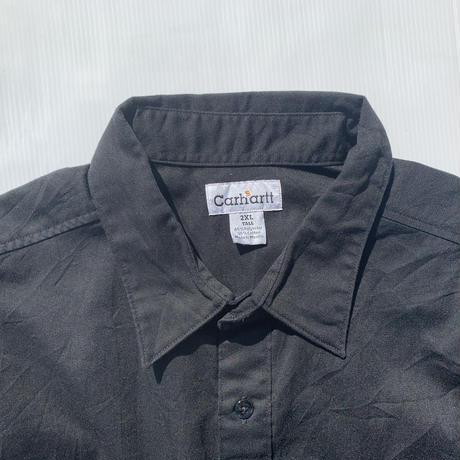 【Carhartt】half shirt black
