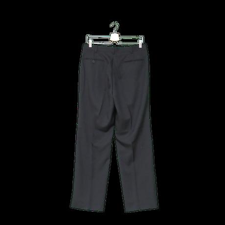 2 tuck slacks(black)