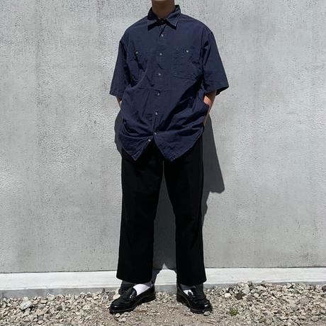 【Carhartt】half shirt navy(フリマ)