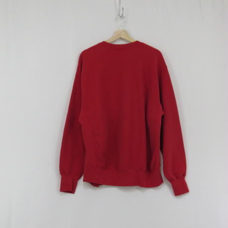 【90's Lee CROSS GRAIN】sweat (red)(フリマ)