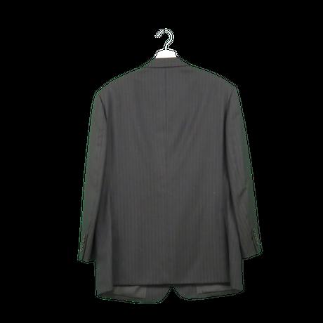 stripe single jacket
