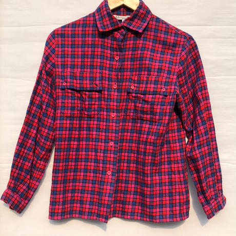 【Christain Dior】 check shirt〜from D〜
