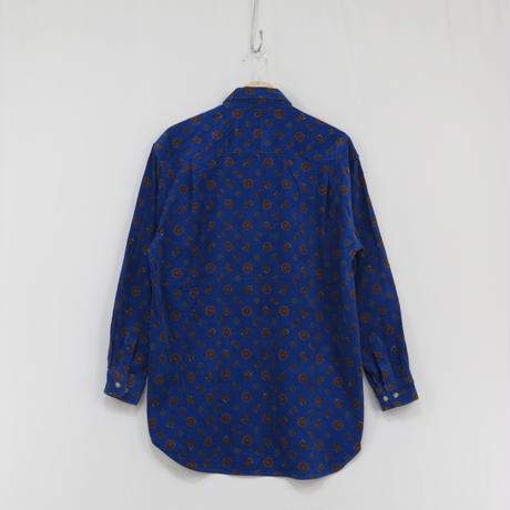 corduroy shirt【blue】